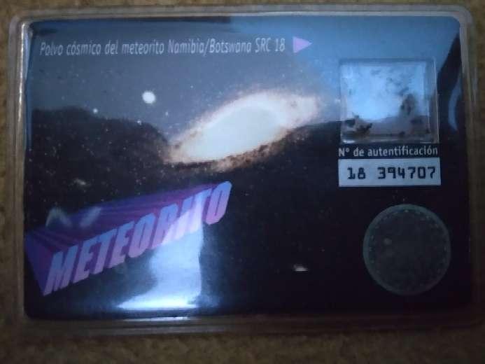 Imagen producto Tarjeta Meteorito 2