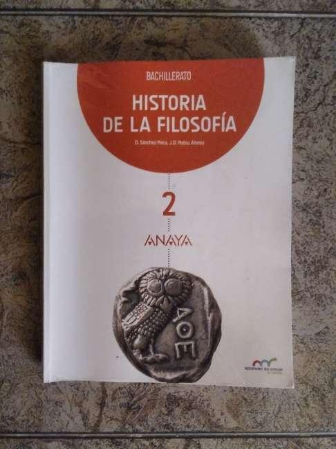 Imagen Libro de Filosofía 2° Bachillerato