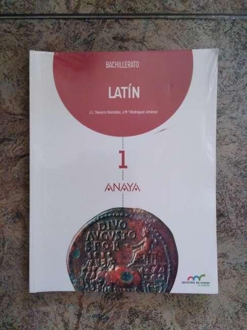 Imagen Libro Latín 1° Bachillerato