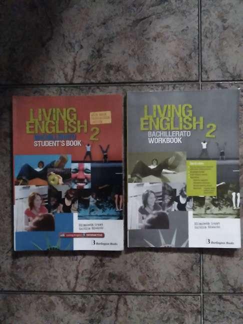 Imagen Libro de Inglés Living English + Workbook 2°Bachillerato