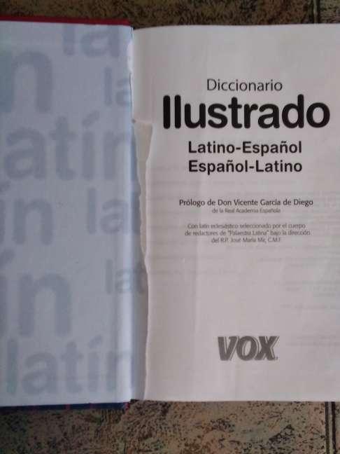 Imagen producto Diccionario Latín Vox  4