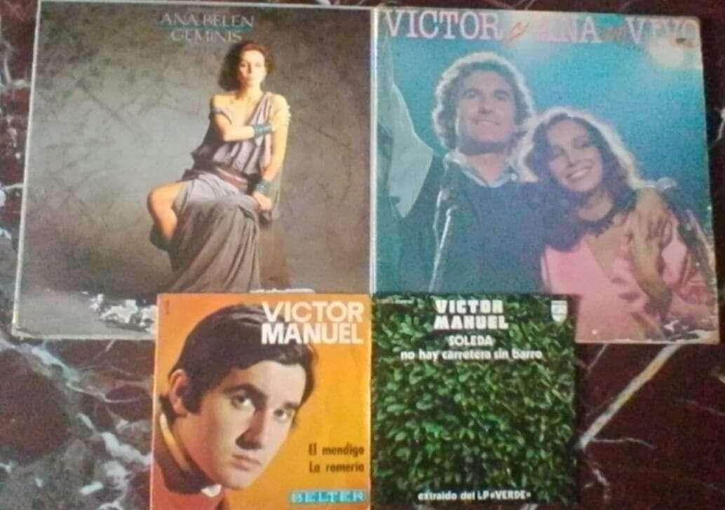 Imagen Discos vinilos Victor Manuel y Ana belén