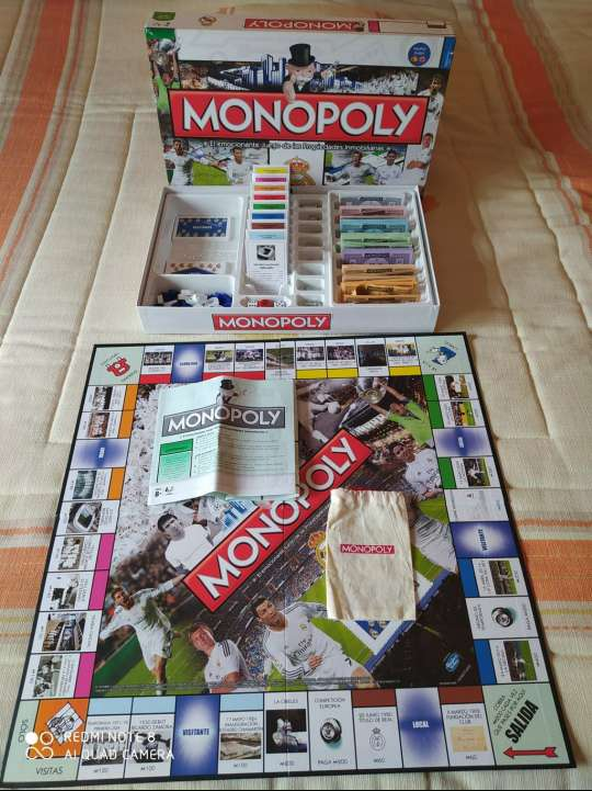 Imagen Monopoly Real Madrid