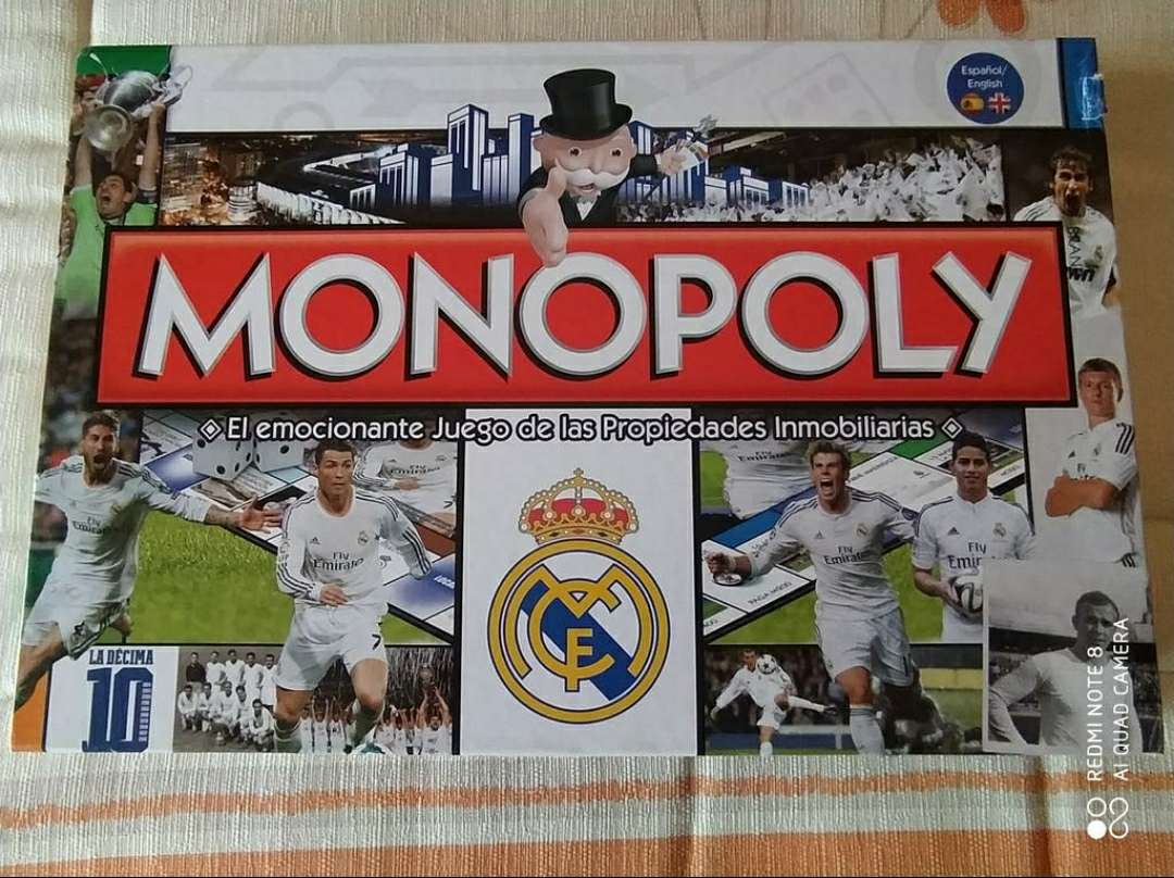 Imagen producto Monopoly Real Madrid 2