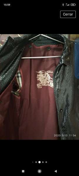 Imagen producto Chaqueta Burberry mujer  4