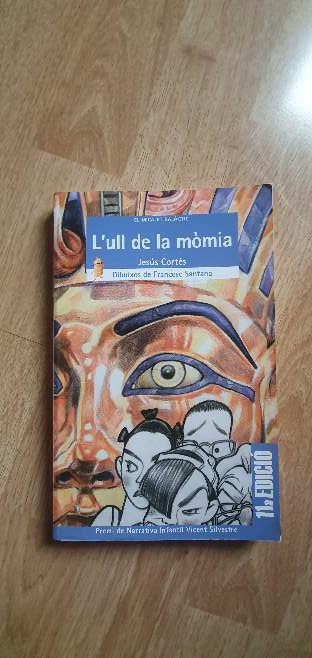 Imagen Libro en Valencia L'ull de la mòmia