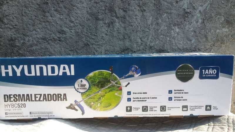 Imagen bordeadora desmalezadora Hyundai 52cc con BOLETA DE COMPRA