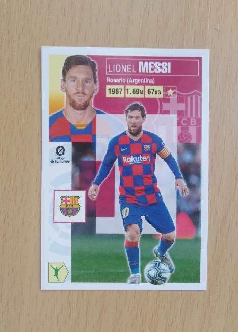 Imagen producto Messi card - cromo fútbol.  1
