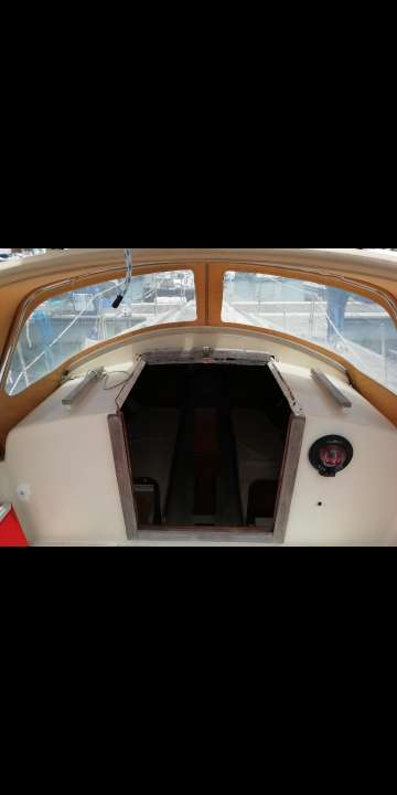 Imagen velero de crucero de el año 1989 8m alegro 27
