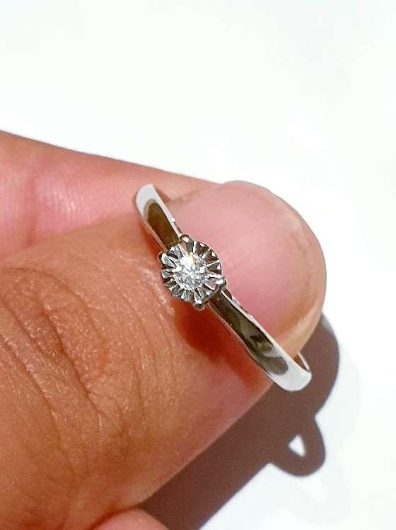 Imagen Solitario de diamante.
