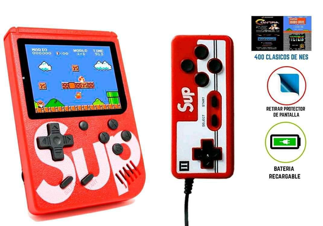 Imagen producto Consola Retro Game 400 juegos+Control 2