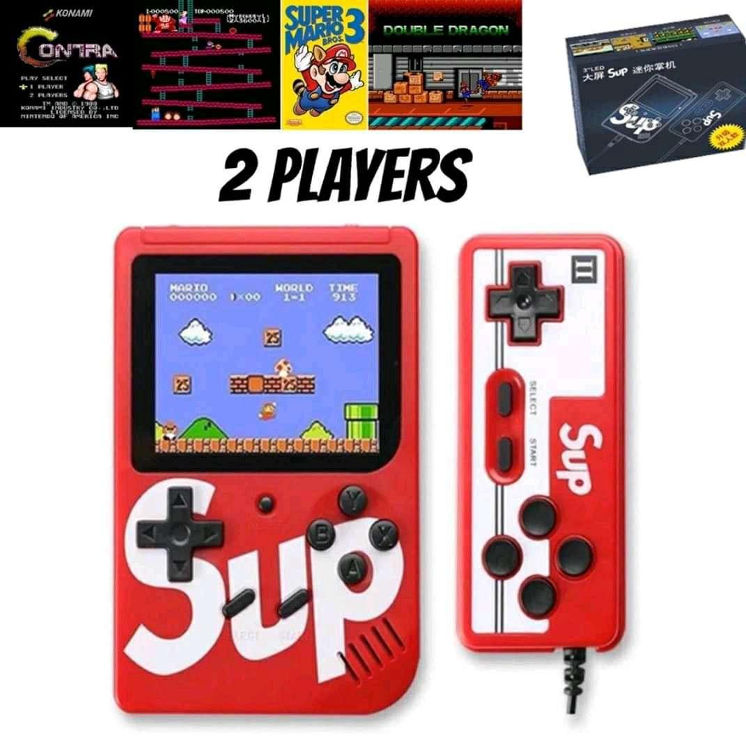 Imagen producto Consola Retro Game 400 juegos+Control 3