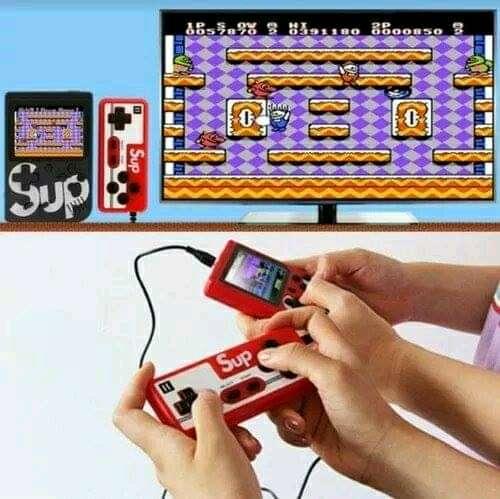 Imagen producto Consola Retro Game 400 juegos+Control 1