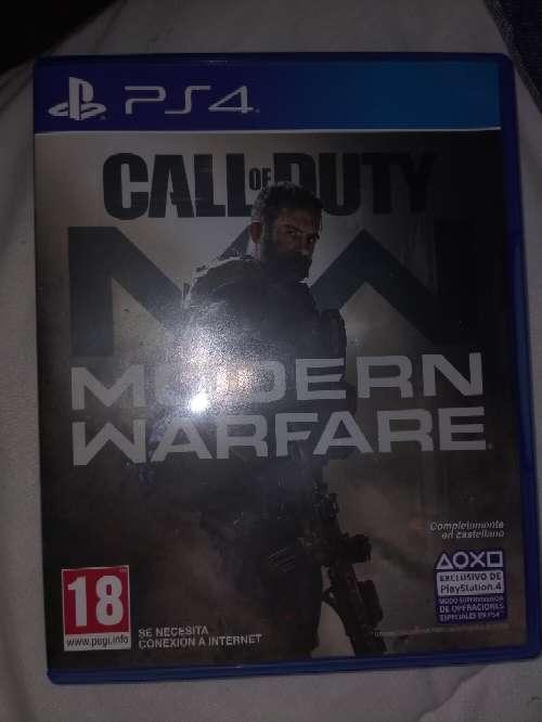 Imagen Modern warfare juego ps4
