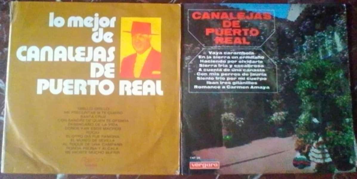 Imagen Discos vinilos Canalejas de puerto real