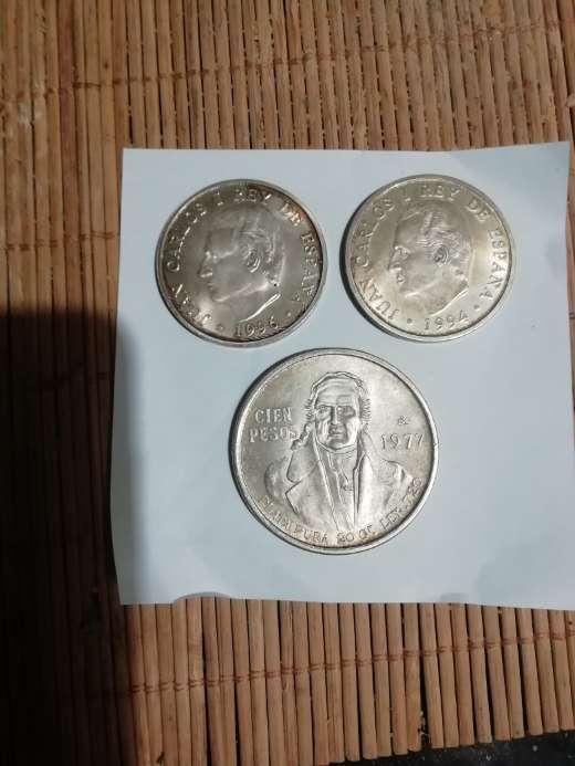 Imagen Monedas de plata