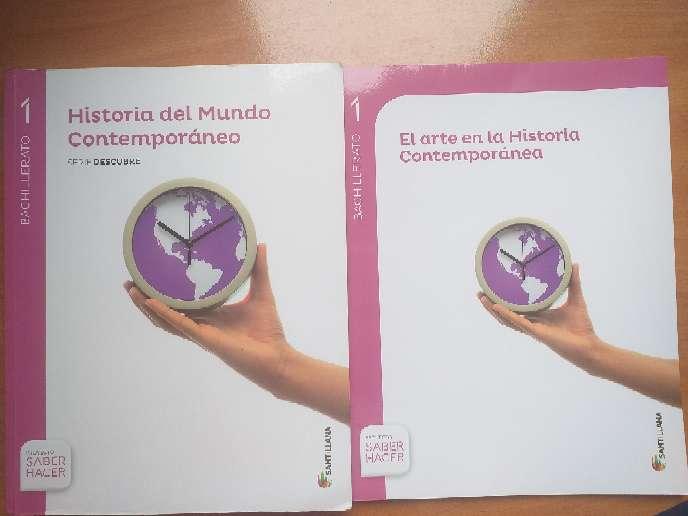 Imagen Libro de 1°BACH de Historia del Mundo Contemporáneo y del Arte en la Historia Contemporánea