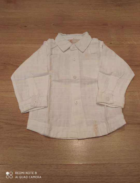 Imagen producto Chaleco y camisa Orchestra 12 meses 4