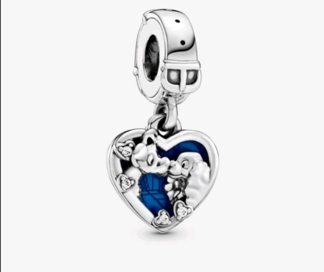 Imagen Charms de Pandora Plata La Dama y El Vagabundo para pulsera de Pandora