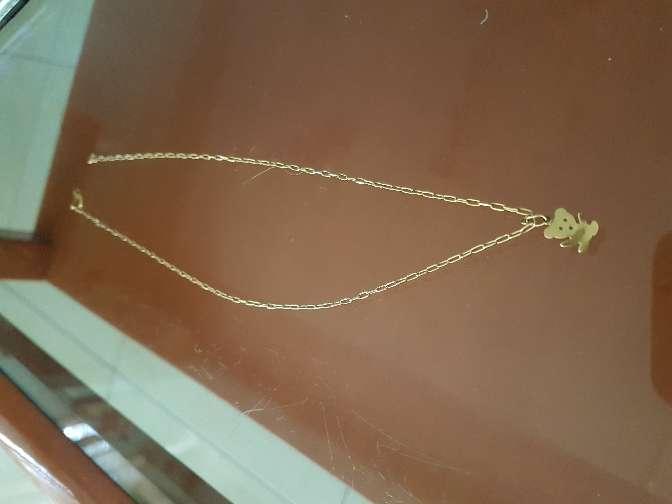 Imagen Collar colgante oro 18 kl