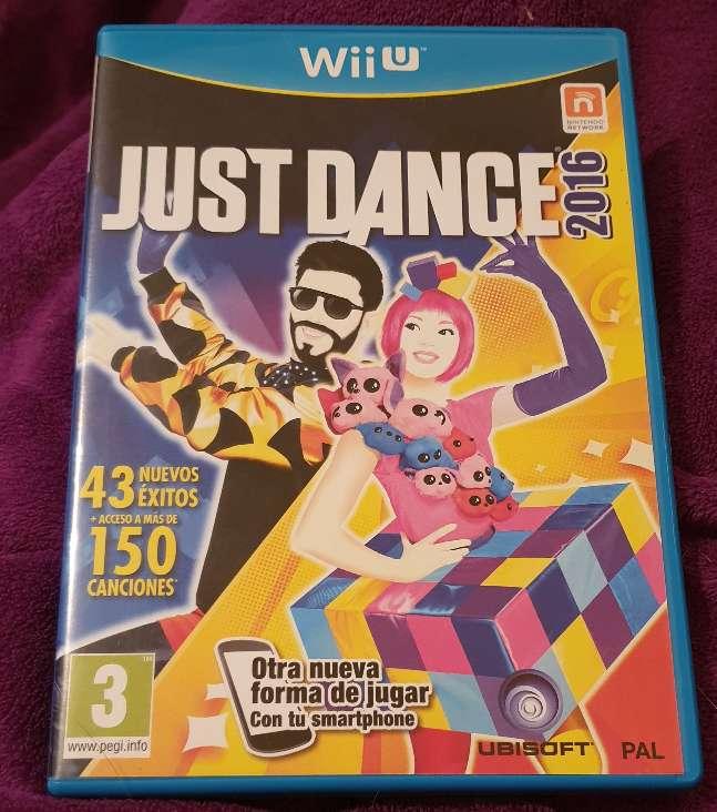Imagen juego just dance 2016