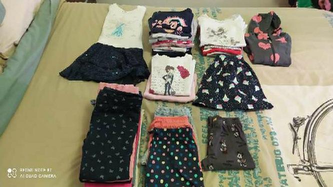 Imagen lote de ropa de naña de 6 a 7 añys
