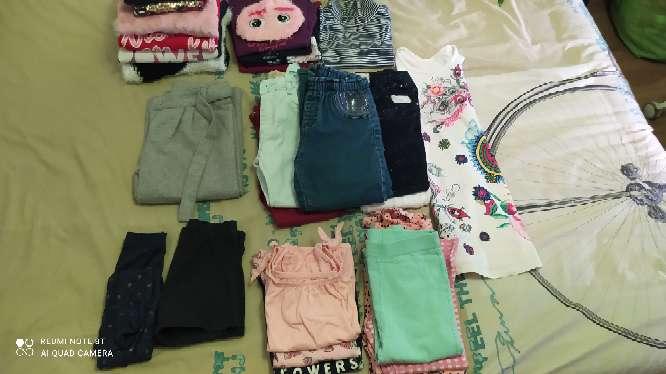 Imagen lote de ropa de niña de 5 a 6 añyos