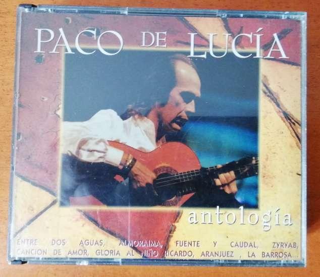 Imagen Antología Paco de Lucía en CD