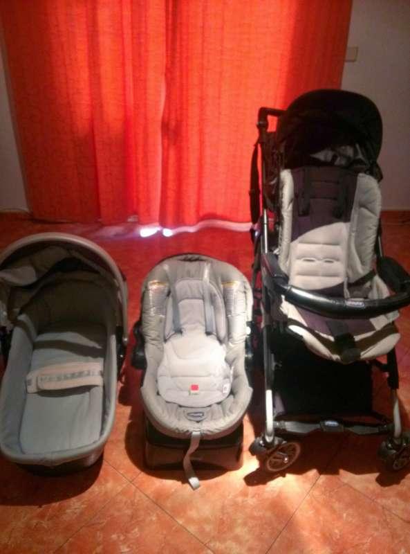 Imagen Carrito bebé 3 piezas marca Chicco