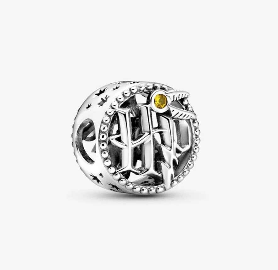 Imagen Charms iniciales Harry Potter para pulsera de Pandora bañados en plata