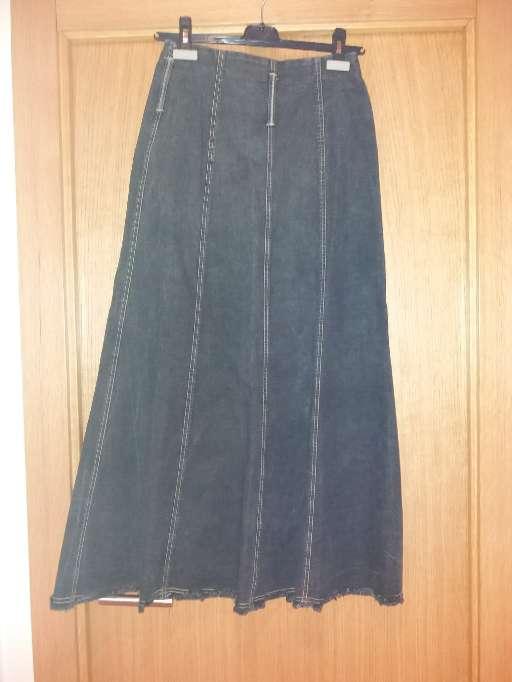 Imagen falda larga tejana