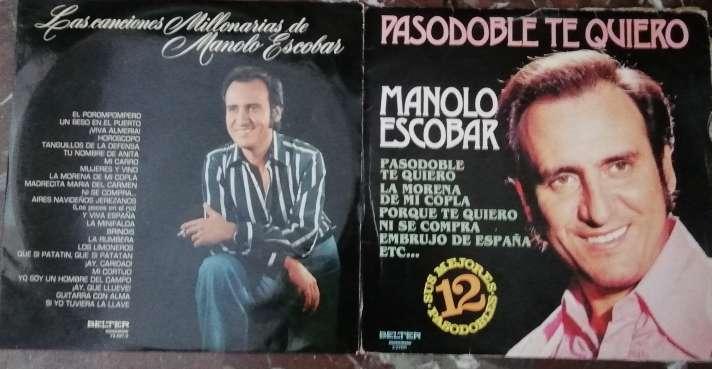 Imagen Discos vinilos MANOLO ESCOBAR