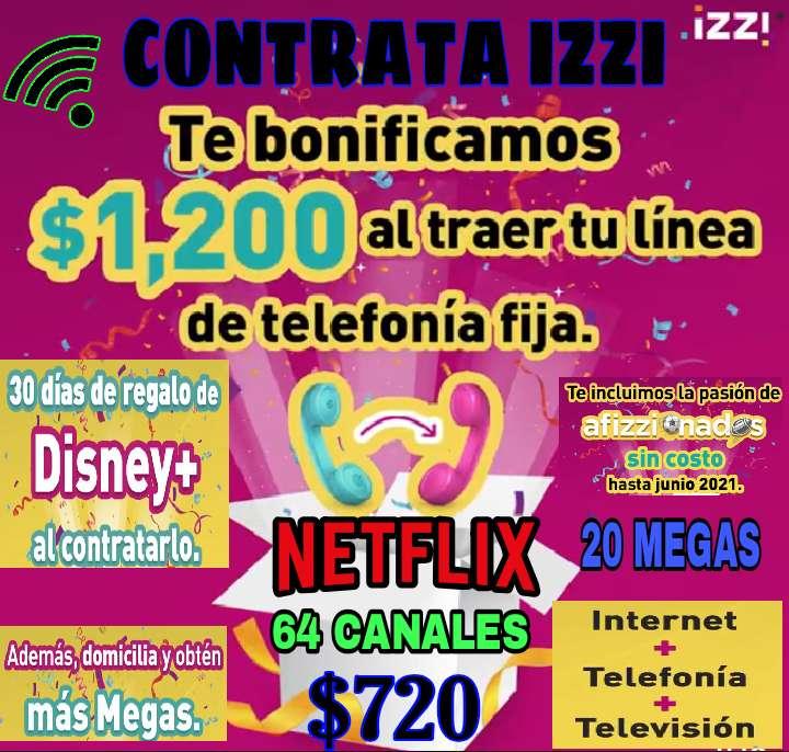 Imagen internet y Netflix