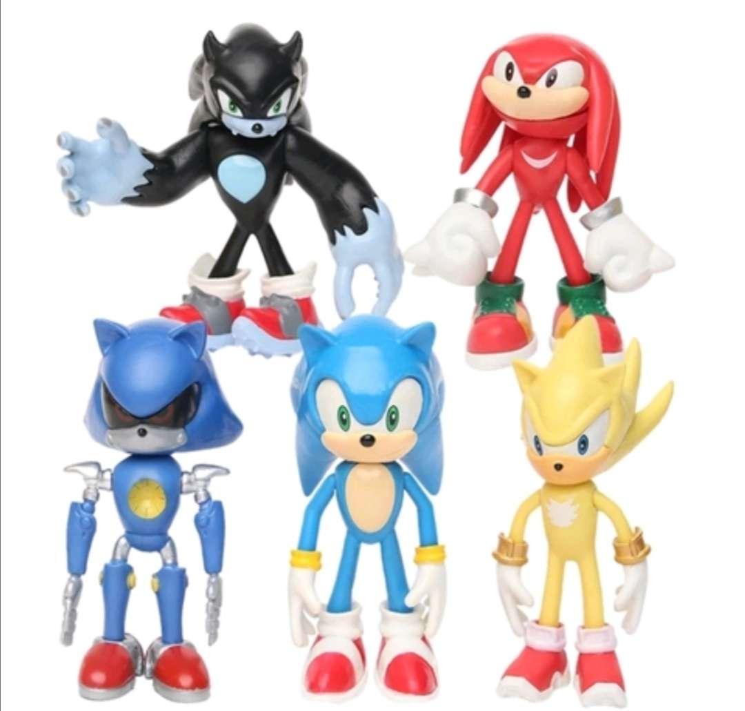 Imagen Muñecos - Figuras Lote de Juguetes Sonic Tails Shadow de 12cm