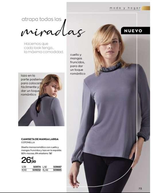 Imagen producto Camisetas largas y ropa interior mujer  10