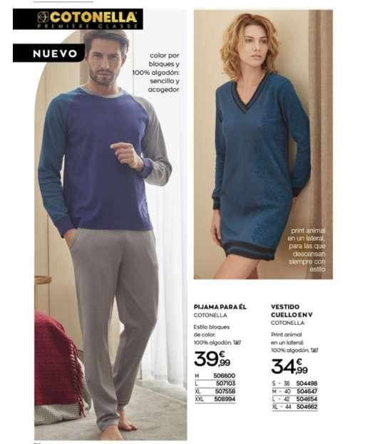 Imagen producto Camisetas largas y ropa interior mujer  7