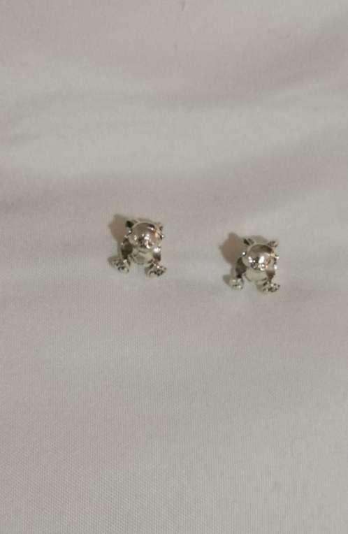 Imagen producto Charms Conejo para pulsera de Pandora bañado en plata  2