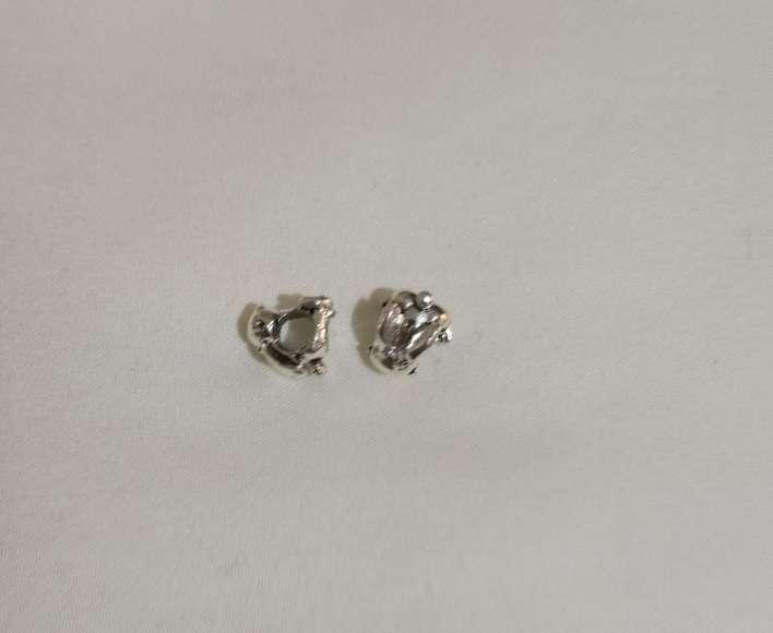 Imagen producto Charms Conejo para pulsera de Pandora bañado en plata  5