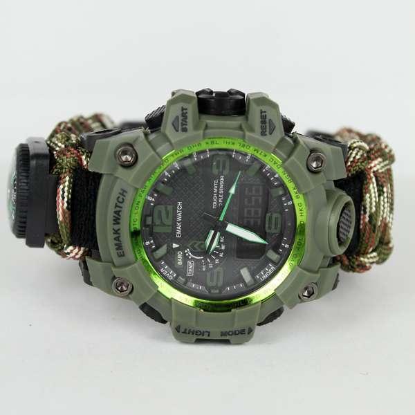 Imagen Reloj de supervivencia camuflaje verde