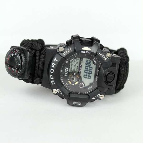 Imagen Reloj de supervivencia negro