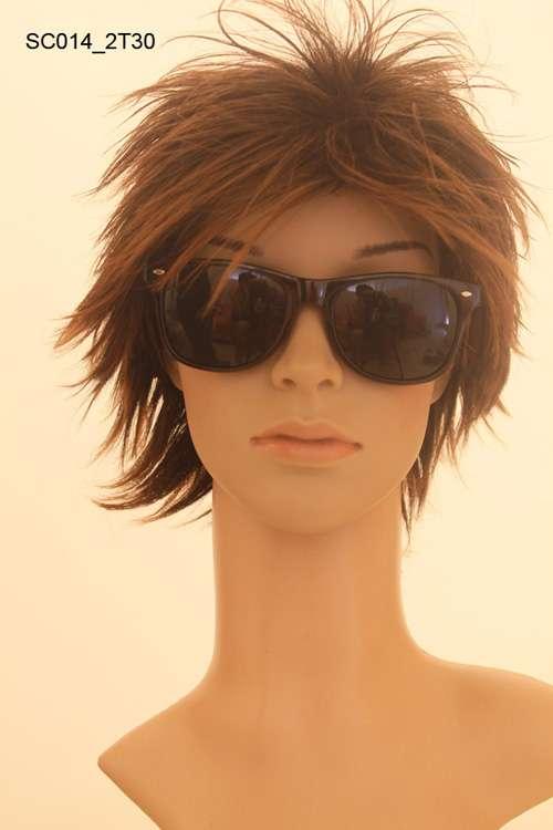Imagen producto Pelucas japonesas  pelo corto  de kanekalon natural 3