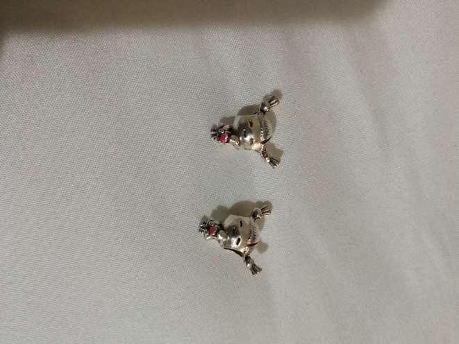 Imagen producto Charms Niña para pulsera de Pandora bañado en plata  4