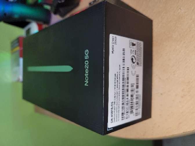 Imagen Samsung Galaxy note 20 5G