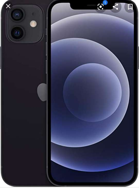 Imagen IPhone 12 negro nuevo 64 gigas