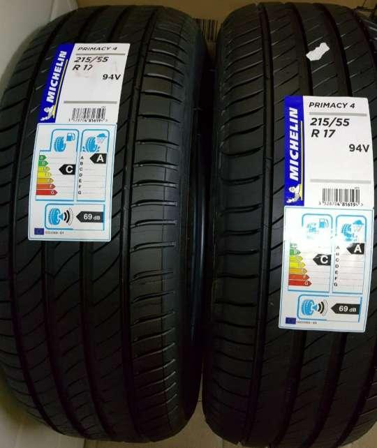Imagen Michelin Primacy 4 215/55/17 94V