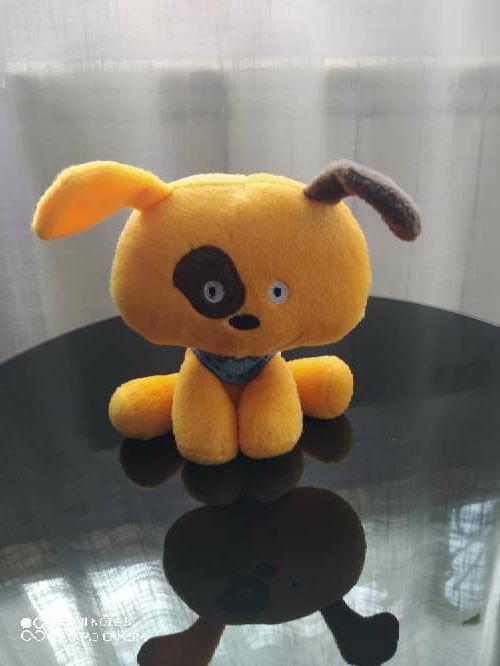 Imagen Peluche perro naranja