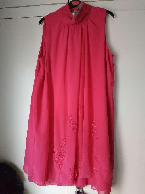 Imagen producto Vestido rosa fucsia  1