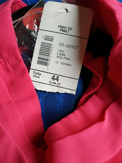 Imagen producto Vestido rosa fucsia  4