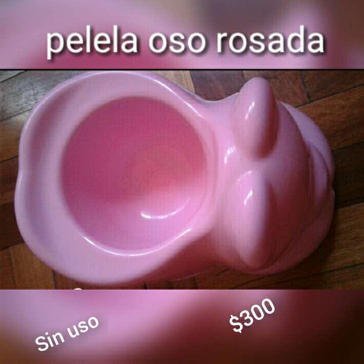 Imagen pelela rosa de osito