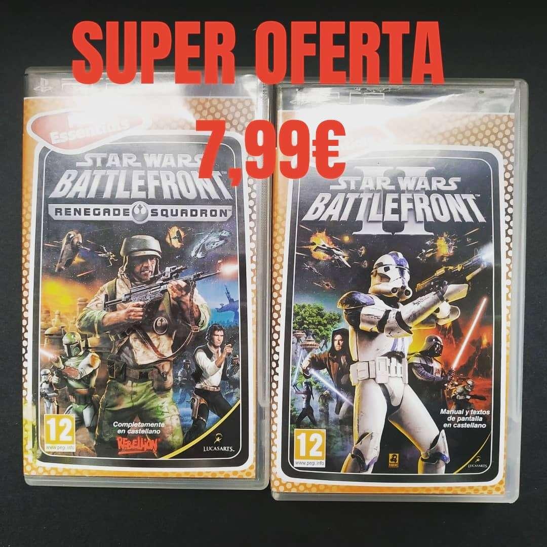Imagen Oferta juegos star wars battlefront